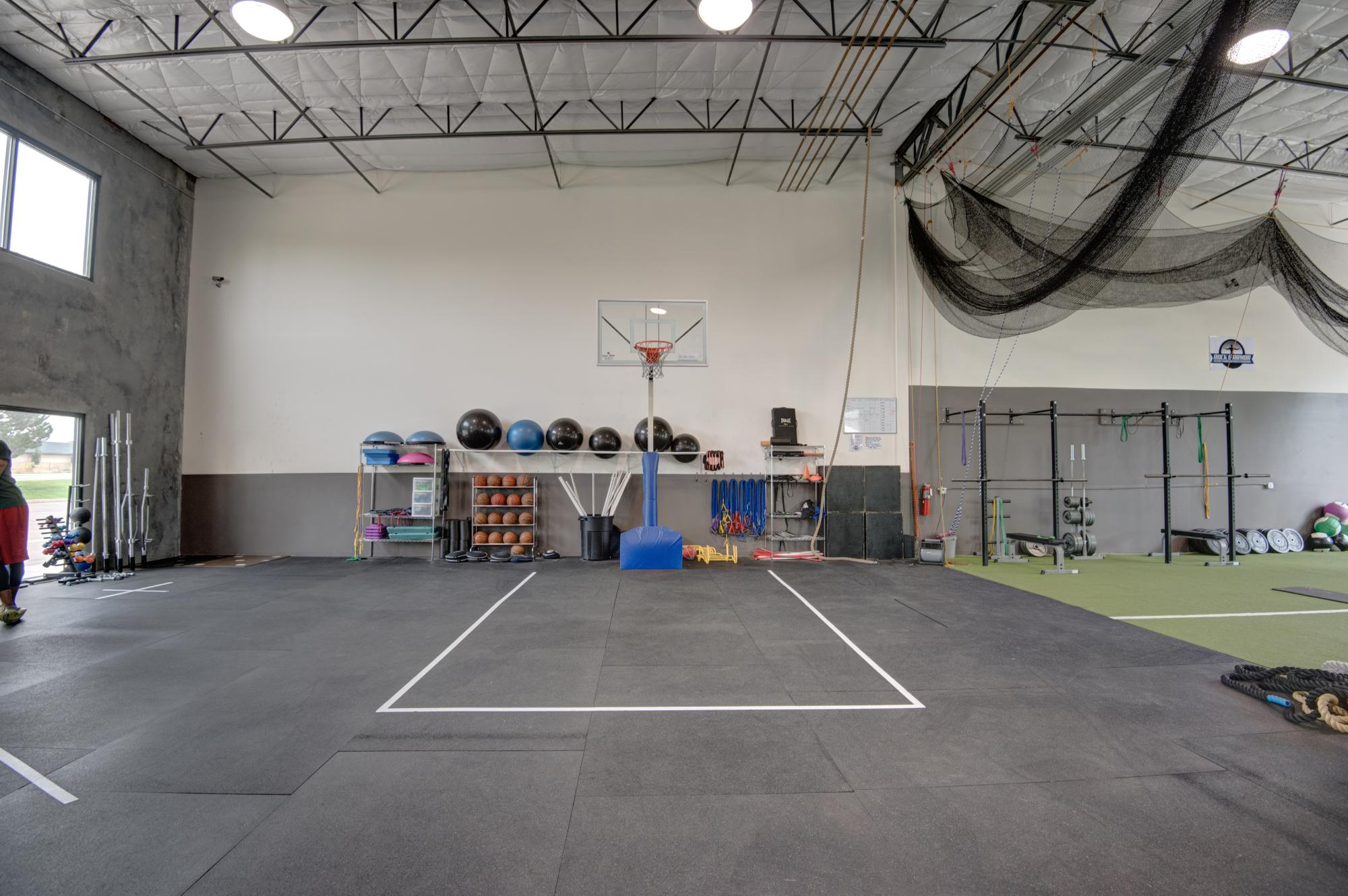 Basketball Specific Area